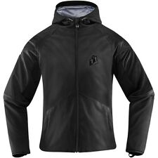 Icon Merc Stealth Softshell Full Zip Street Riding Womens Motorcycle Jackets
