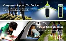 Camping Lantern Lighting Flashlight Rechargeable Battery Solar 6039 Collapsible