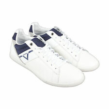 Diesel S-Judzy Mens Blue Leather Lace Up Sneakers Shoes