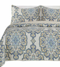 Darby Home Co® Beauford 100% Cotton 3 Piece Reversible Quilt Set