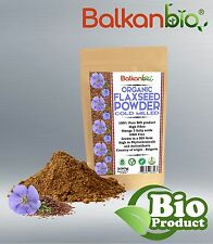 Flaxseed / Linseed powder Cold Milled Omega-3 Fiber Antioxidant BIO Weight Loss