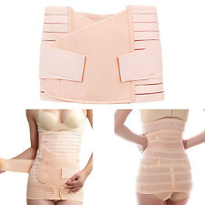 Hot Postpartum Recovery Band Belly Slimming Girdle Hip Reducer Body Shaper Set