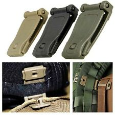 5/10pc EDC Molle Strap Backpack Bag Webbing Connecting Buckle Clip Outdoor Tools