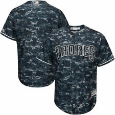 San Diego Padres Majestic Official Cool Base Jersey - Camo - MLB