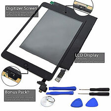 LCD+Touch Screen Digitizer Replacement For Apple iPad2/5/Air1/mini12 Black/White