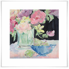Ophelia & Co. 'Fruit and Flowers' by Susan Pepe Acrylic Painting Print on Paper