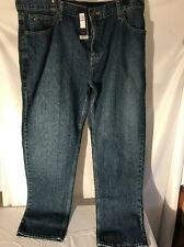 Tommy Hilfiger Mens Jeans Classic Straight Leg 38 32 Blue NEW NWT MSRP $59.98
