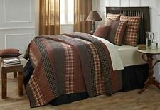 6PC Beckham Country Quilted Bedding Set by VHC Brands - Quilt, 2 Shams, Pillows