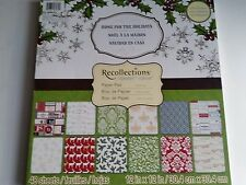 Recollection  and DCWV Christmas 12x12 Paper Pads