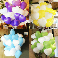 Heart Shape Latex Helium Balloons Wedding Birthday Party Home Decor Supplies