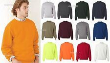 JERZEES Mens NuBlend SUPER SWEATS Crewneck Sweatshirt 4662MR S,M,L,XL,4XL SALE