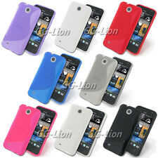 For HTC Desire 300 Gel TPU Skin Case Cover