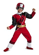 Disguise Toddler Boys Red Power Ranger Muscle Costume