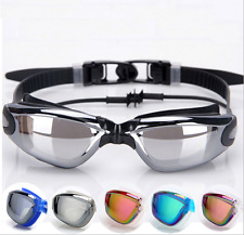 New Adult  Anti-fog Swimming Goggles Swim Glasses UV Protection  Electroplate