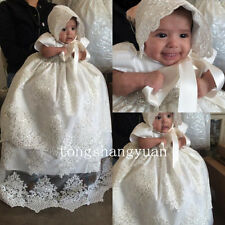 Baptism outfits Vintage Christening Gowns Infant Dress Baby Sequin Lace Girl Boy