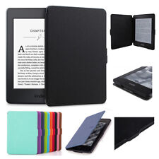 Smart Automatic Wake PU Leather Case Cover For Amazon Kindle / Kindle Paperwhite