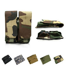 Tactical Molle Double Magazine Pouch Pistol Mag Pouch for USGI 30 round Overall