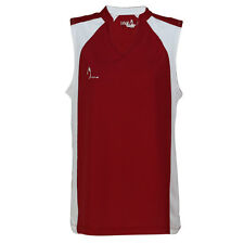L.O.F.T. GOLF Ladies Madison Red/White Polo Shirt, 100% Polyester QUALITY polo