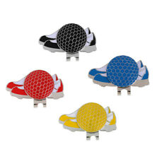 Stainless Steel Golf Ball Marker Magnetic with Hat Clip Golf Gift Accessory