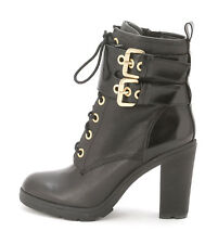Guess Finlay Women's Lace Up Heeled Booties