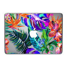 Flowers and tropic leaves hard case for MacBook Pro 13 Retina 13 15 MacBook Air