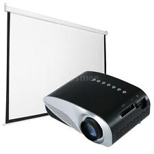 Portable Full HD LED Projector 1080P Home Cinema Theater Projection Screen X1B0