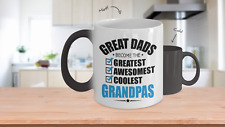 Great Dads Become Grandpas Color Changing Coffee Mug - Fathers Day Gift