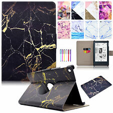 Leather Card Slot Case Flip Painted Cover For Amazon Kindle Fire HD 8 2016/ HDX7