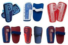 NEW KIDS FOOTBALL CLUB SHIN PADS SLIP ON YOUTH BOYS PROTECTION GUARDS AGE 9 - 13