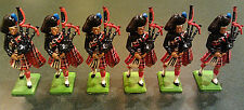 Vintage BRITAINS Lead Toy Soldiers ~ Lot of 6 w/ Bagpipes