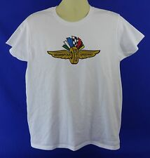 New Indianapolis Motor Speedway White Ladies T-Shirt Indy 500 Brickyard 400