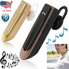 Bluetooth Earphone Wireless Headset 22 Hours Talk Time For Samsung iPhone LG HTC