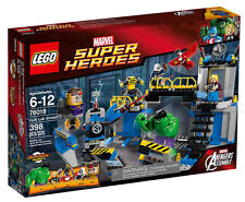Lego 76018 Marvel Super Heroes Hulk Smash Lab Set NISB
