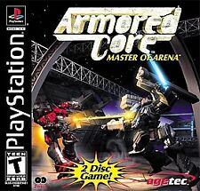 Armored Core: Master of Arena (Sony PlayStation 1, 2000)