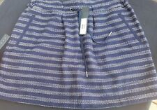 NWT $258  Marc by Marc Jacobs  Dalea Tweed skirt - Blue  SZ M  Free Shipping