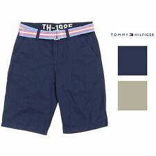 Tommy Hilfiger Boys Chester Twill Short with Belt