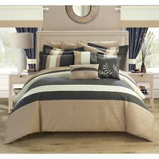 Chic Home Lorena Grey 24-piece Bed in a Bag with Sheet Set