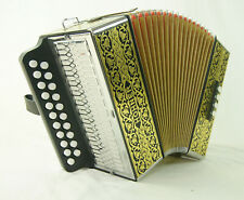 Accordion diatonic Hohner 2915 luxury with shoulder straps and cover. guaranteed