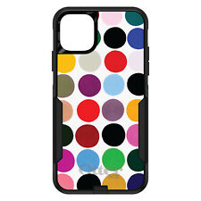 OtterBox Commuter for iPhone 5 SE 6 S 7 8 PLUS X Rainbow Polka Dots