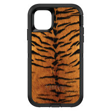 OtterBox Defender for iPhone 6 6S 7 8 PLUS X Yellow Black Tiger Fur Skin