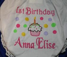 Personalized Monogrammed Diaper Cover Bloomers Birthday
