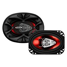 "BOSS - 4"" x 6"" 3-Way Chaos Exxtreme Series 250W Coaxial Speakers"