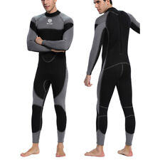 Men's 3mm Neoprene Wetsuit Stretch Back-Zip Warm Wet Suit Surf Scuba Dive Diving