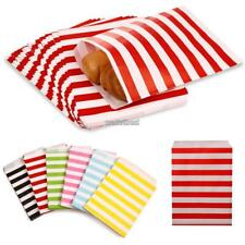 25PCS Candy Cookie Cake Food Striped Dot Paper Bags Wedding Party Gift WST