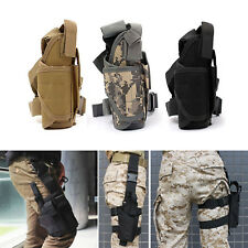 Adjustable Tactical Pistol Gun Drop Bag Puttee Leg Thigh Holster Pouch Holder