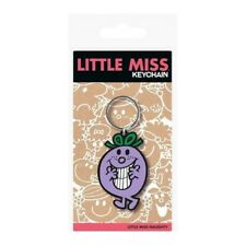 Official Little Miss Character Flexible Keyring Keychain - Little Miss Sunshine