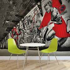 WALL MURAL PHOTO WALLPAPER XXL Graffiti Street Art Urban Woman Wall (10517WS)