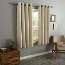 Aurora Home Thermal-insulated Blackout 54-inch Grommet-top Curtain Panel Pair