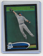 2012 TOPPS SERIES ONE BASEBALL BLACK BORDER PARALLEL CARDS KANSAS CITY ROYALS