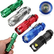 3500lm CREE Q5 LED Mini Zoomable Flashlight Torch Lamp Light 14500 @UP